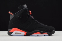 Air Jordan 6 Black Infrared  384664-023