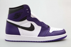 air Jordan1 court purple 555088-500